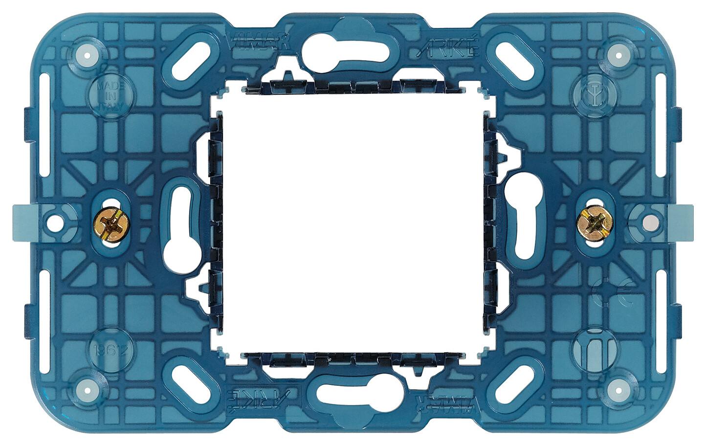 Суппорт 2 модуля центр  с винтами