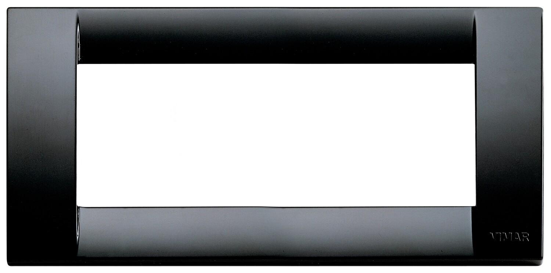 Накладка для 5 модулей пластик черный