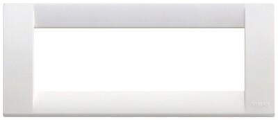 Накладка для 6 модулей пластик ярко-белый