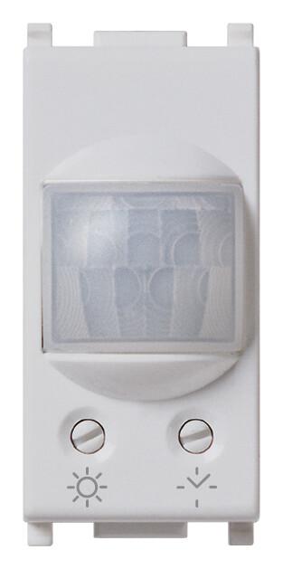 Выключатель NO 6А 230V с инфракрасным сенсором и таймером на 1 модуль, серебро