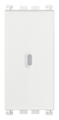 Переключатель с 4-мя контактами ( инвертор ) 1P осевой 16AX , белый