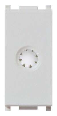 Модуль с зажимами для кабеля, серебро