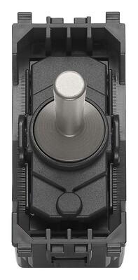 Кнопка-тумблер1PNO10A,никельматовый