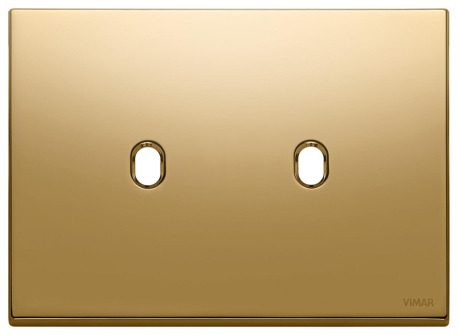 Накладка, 3 мод на 2 выкл., золото