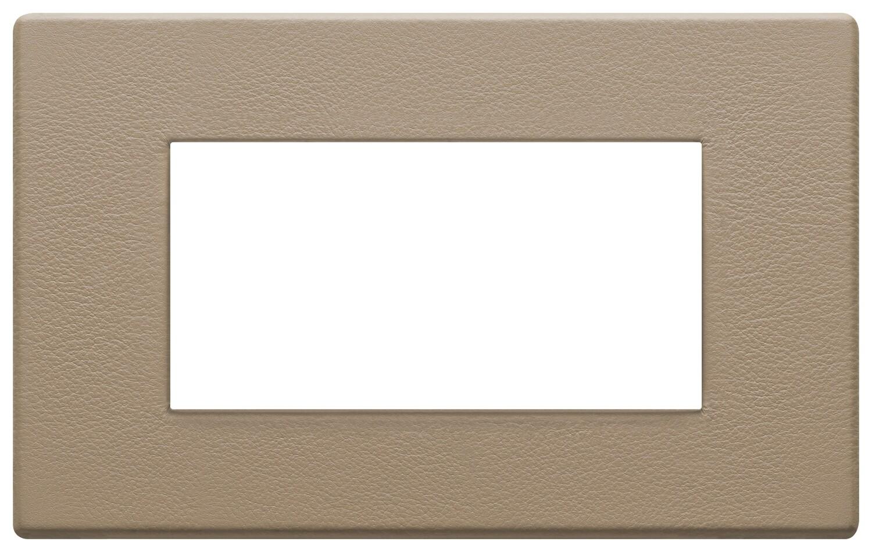 Накладка на 4 модуля, саванна