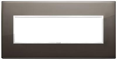 Накладка Evo на 7 модулей, черный сапфир