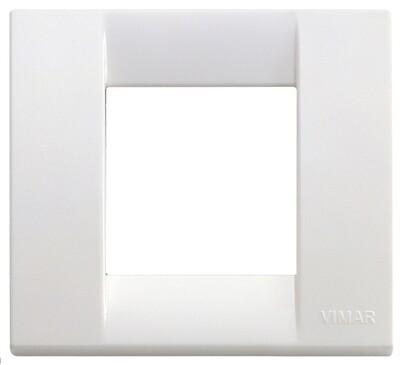 Накладка для 1-2 модулей пластик ярко-белый