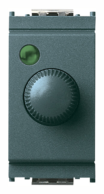 Регулятор 100 - 500W с переключателем, серый