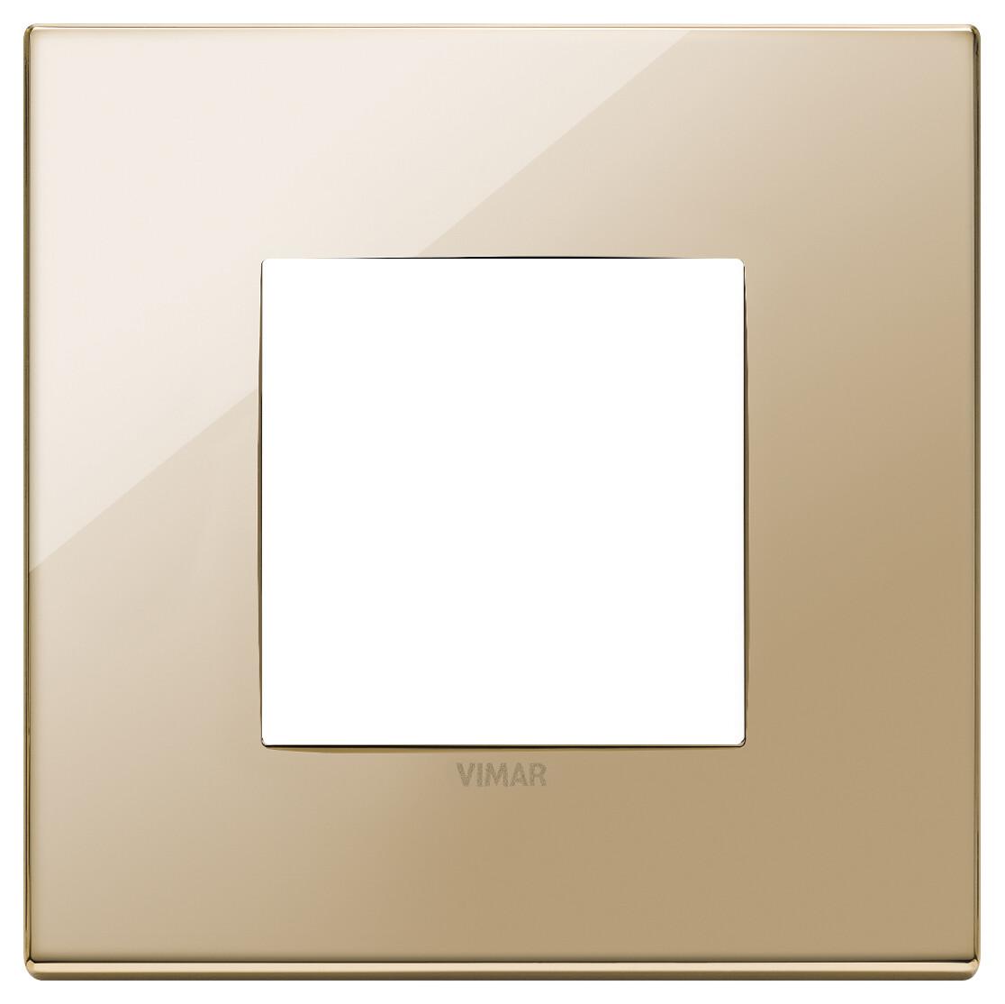 Накладка на 2 модуля, золото