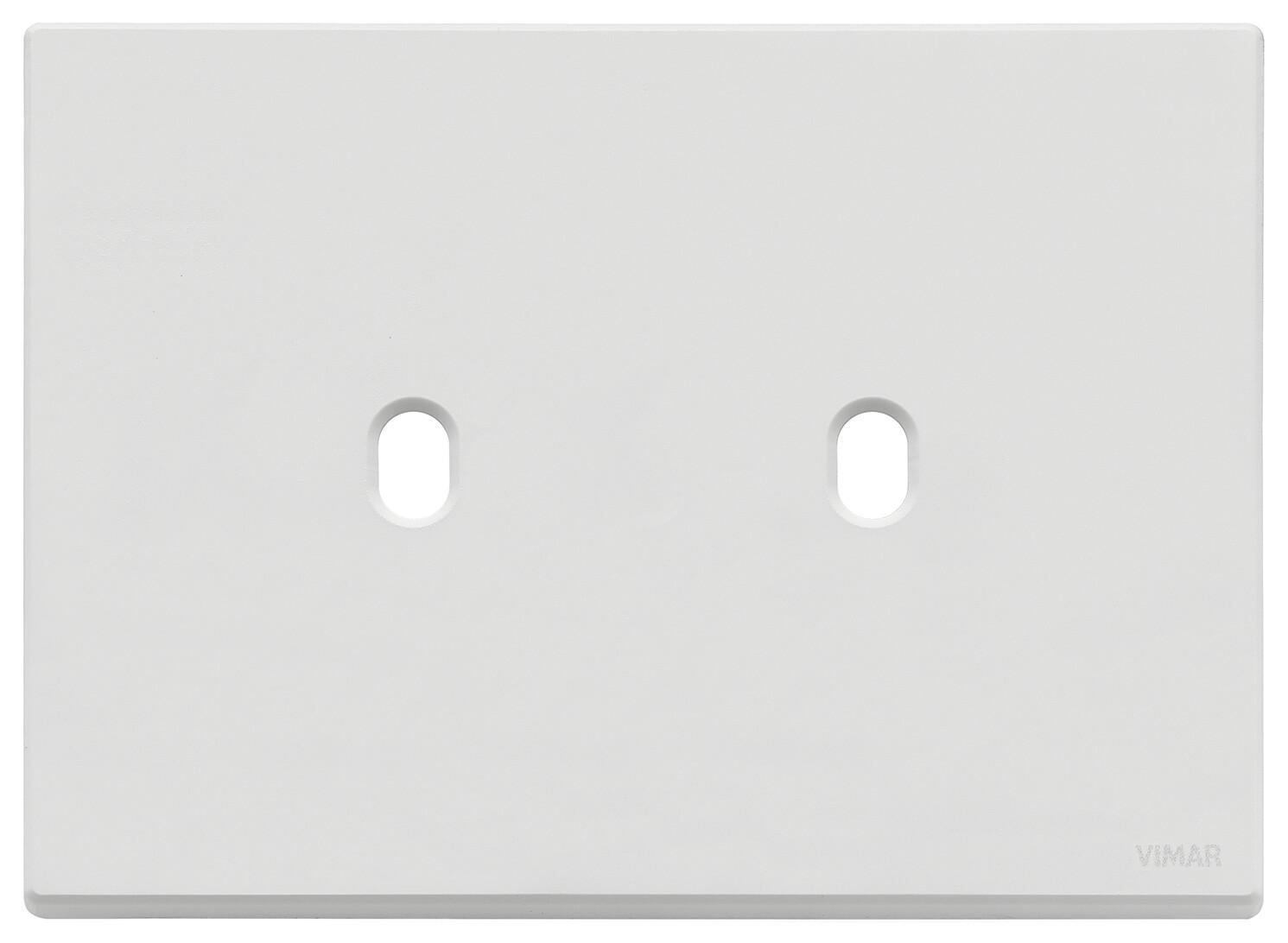 Накладка, 3 мод на 2 выкл., белая матовая