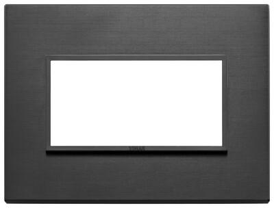Накладка Evo на 4 модуля, черная полностью