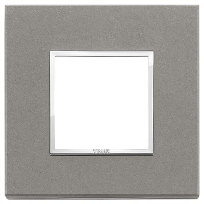 Накладка Evo на 2 модуля, серый кварц