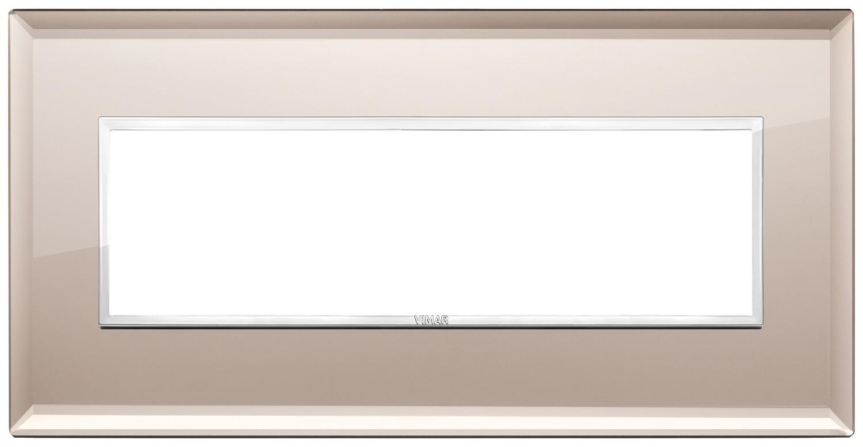 Накладка Evo на 7 модулей, бронзовое зеркало