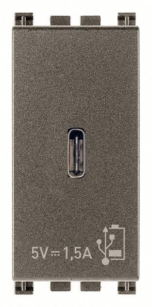 ЗарядноеустройствосразъемомUSBC5V1,5A,1модуль,Metal