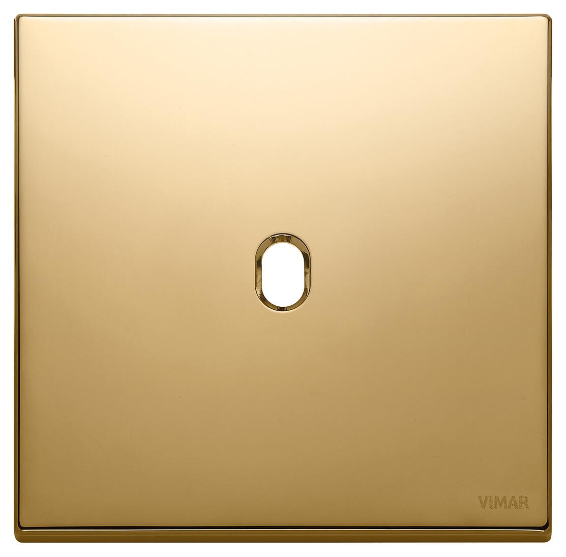 Накладка, 2 мод на 1 выкл., золото