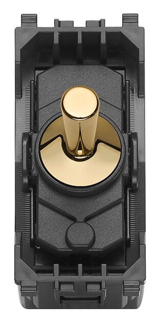 Кнопка-тумблер1PNO10A,золото