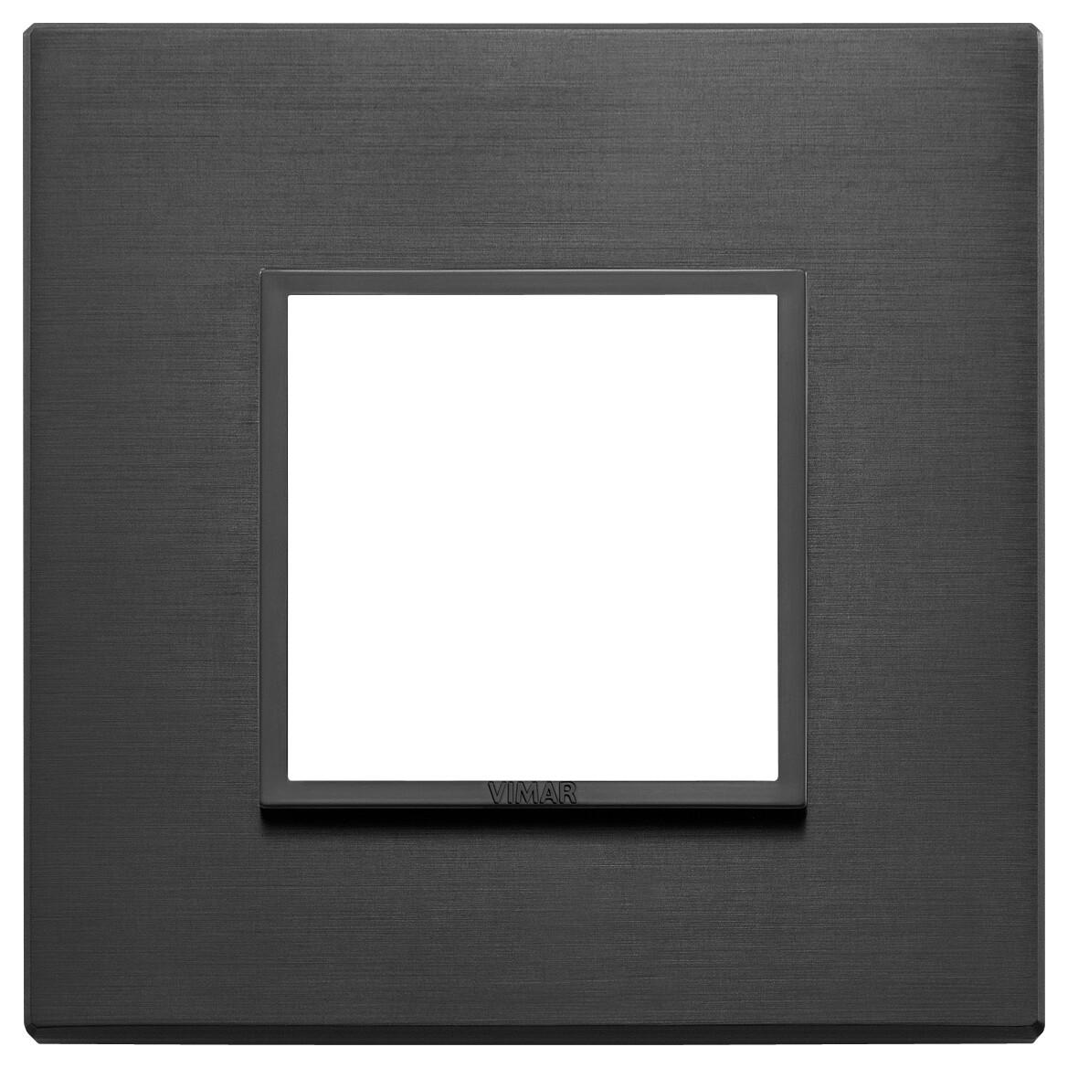 Накладка Evo на 2 модуля, черная полностью