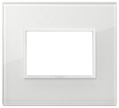 Накладка Evo на 3 модуля, полностью белый бриллиант