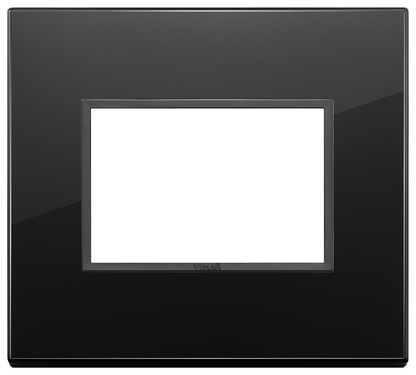 Накладка Evo на 3 модуля, полностью черный бриллиант