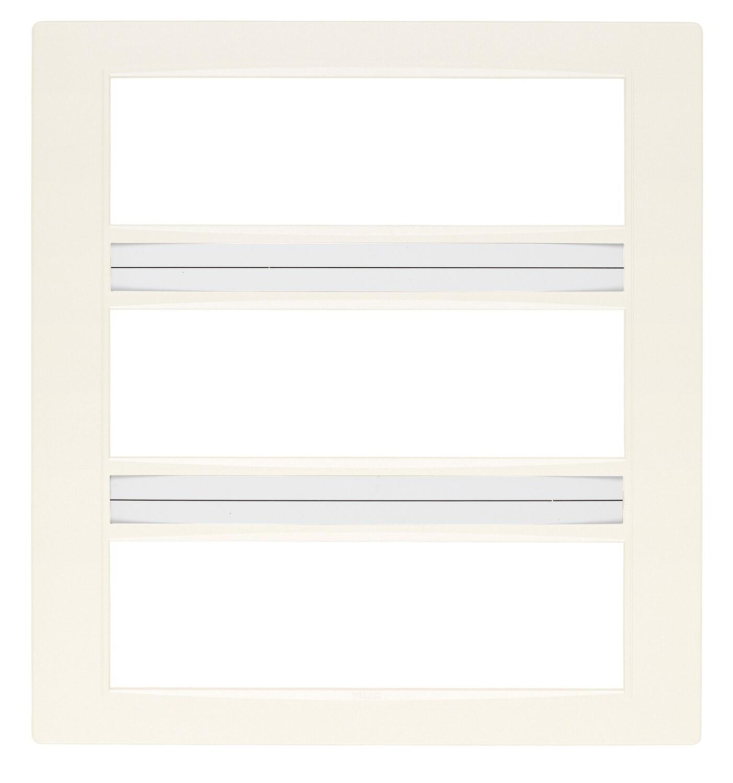 Накладка классика на 21 (7+7+7) модуль белая