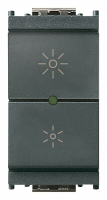 Регулятор ведущий 230V универсальный, серый