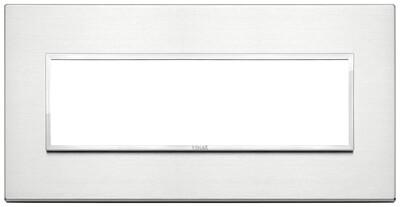 Накладка Evo на 7 модулей, бриллиантовый алюминий