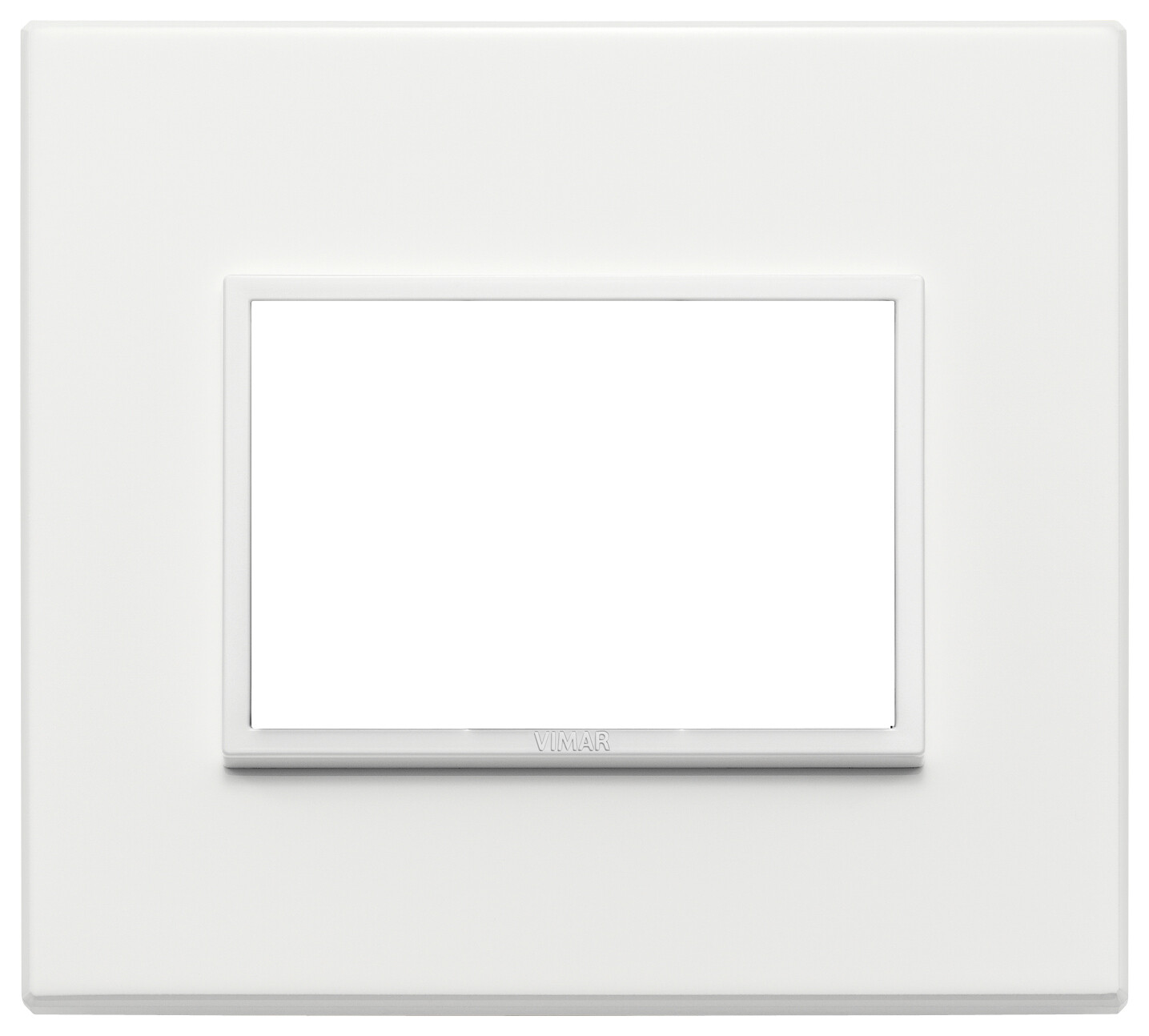 Накладка Evo на 3 модуля, серый жемчугполностью