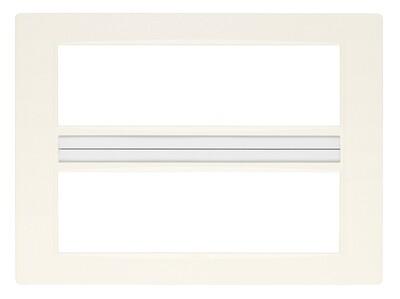 Накладка классика на 14 (7+7) модулей белая