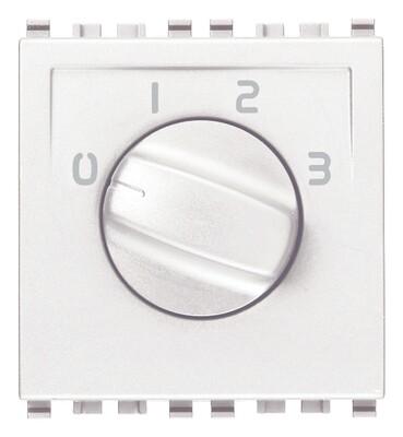 Коммутатор поворотный 1p 6(3)a , белый