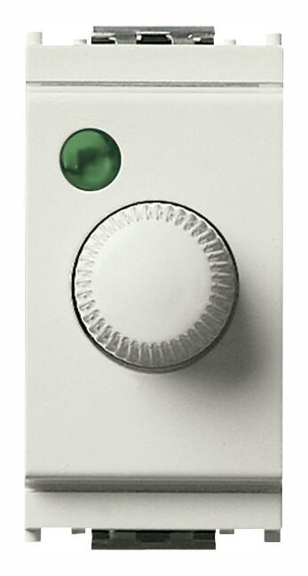 Выключатель 100-500Вт с диммированием освещения, белый