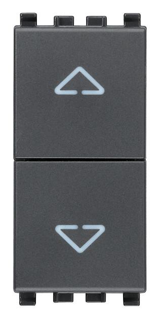 Две кнопки взаимоблокируемые no+no 10a