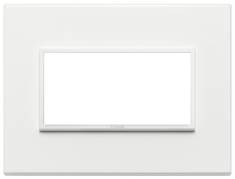 Накладка Evo на 4 модуля, серый жемчугполностью