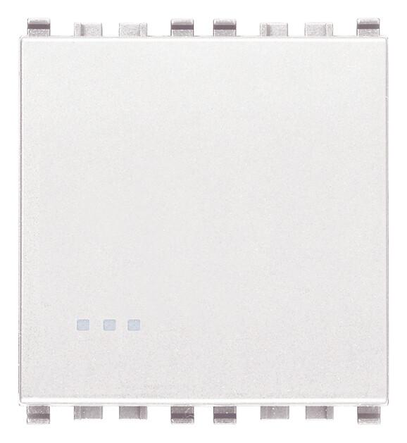 Переключатель 1p 16ax 2m, белый