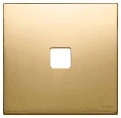 Накладка, 2 мод на 1 кн., золото