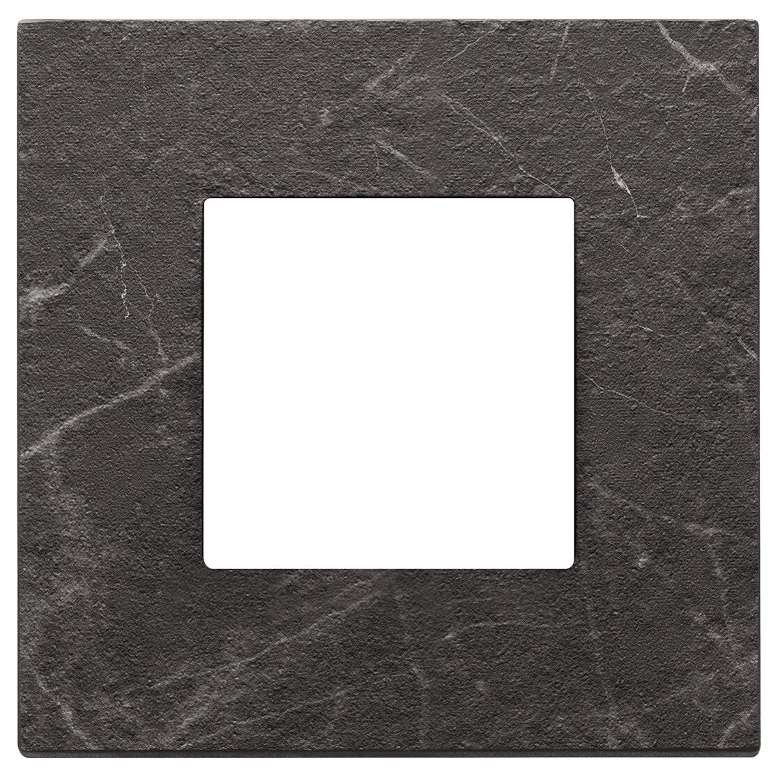 Накладка на 2 модуля, nero Marquina