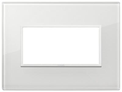 Накладка Evo на 4 модуля, полностью белый бриллиант