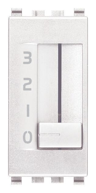 Коммутатор движковый 1p 6(2)a , белый