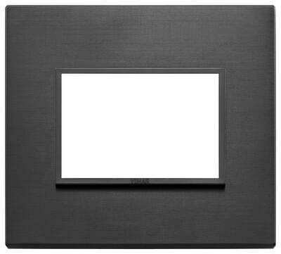 Накладка Evo на 3 модуля, черная полностью