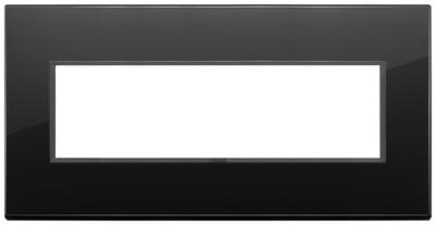 Накладка Evo на 7 модулей, полностью черный бриллиант