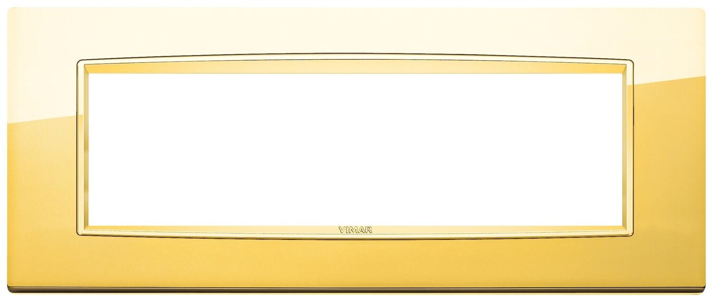 Накладка классика для 7 модулей золото глянцевое