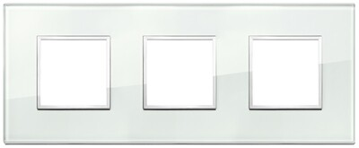 Накладка Evo на 6 модулей (2+2+2) расстояние между центрами 71мм, аква