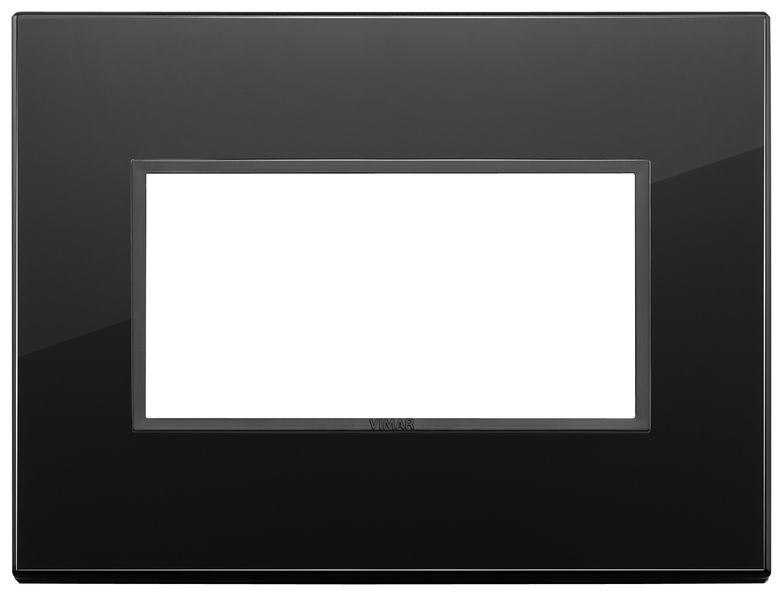 Накладка Evo на 4 модуля, полностью черный бриллиант