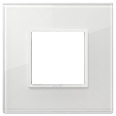 Накладка Evo на 2 модуля, полностью белый бриллиант