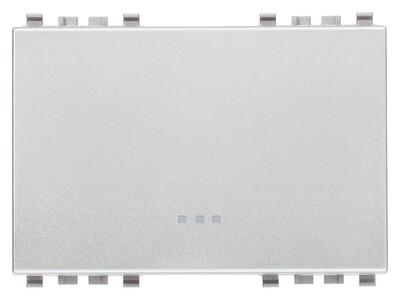 Клавиша 3m, серебро матовое