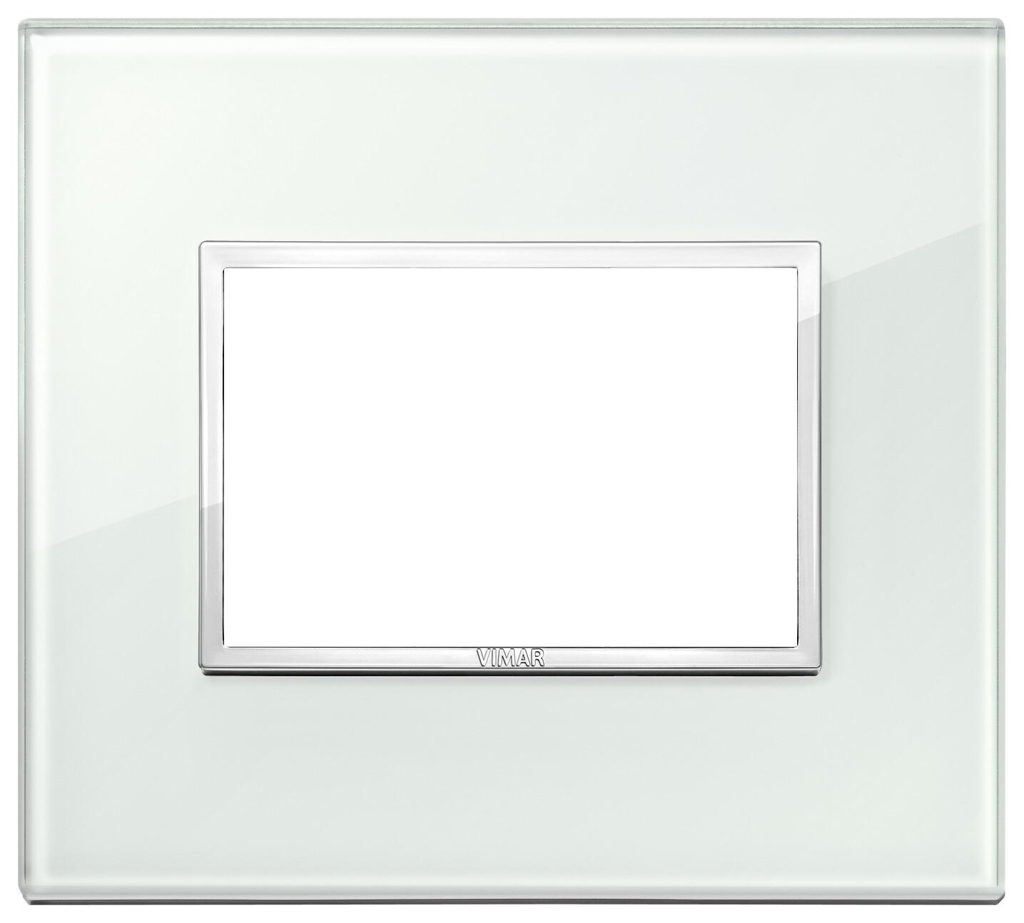 Накладка Evo на 3 модуля, аква