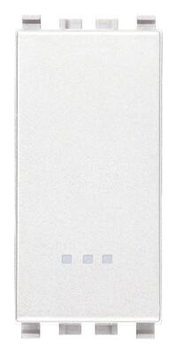 Выключатель 1p 16ax , белый