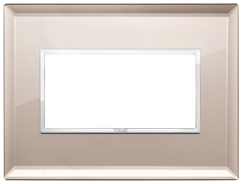 Накладка Evo на 4 модуля, бронзовое зеркало