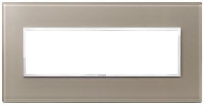 Накладка Evo на 7 модулей, коричневый опал