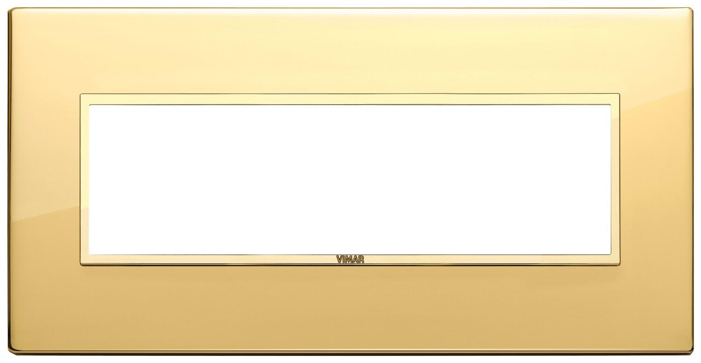 Накладка EVO для 7 модулей, золото полированное