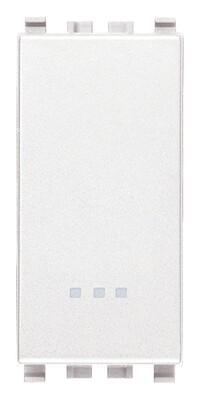 Переключатель 1p 16ax , белый